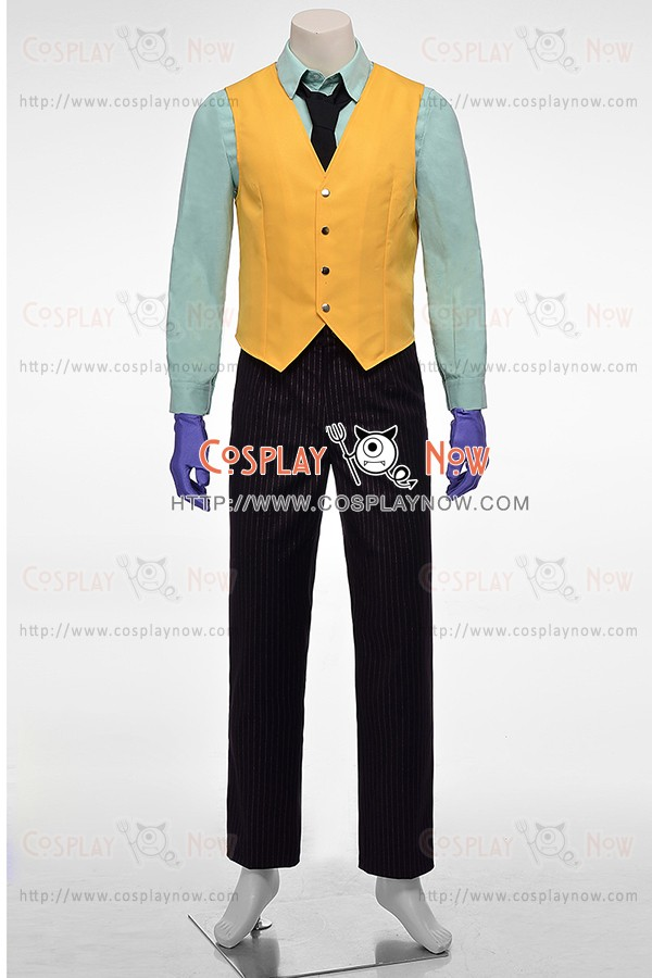 c3434689762b85 The Joker Costume For Batman Arkham City Cosplay Tuxedo Suit