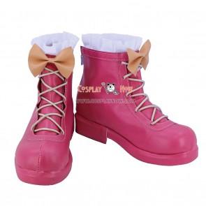 Battle Girl High School Cosplay Tsubuzaki Anko Shoes