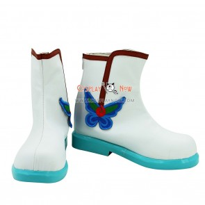 Hoozuki no Reitetsu Hakutaku Cosplay Boots With  Embroidery