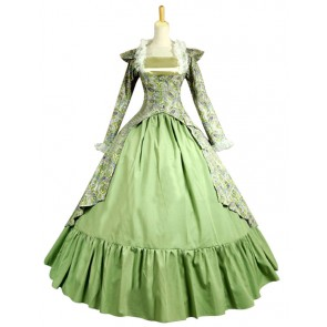 Gothic Victorian Ball Gown Formal Reenactment Stage Lolita Dress Costume