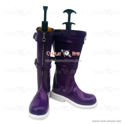 League of Legends Cosplay Shoes Dark Child Annie Purple Lolita Boots