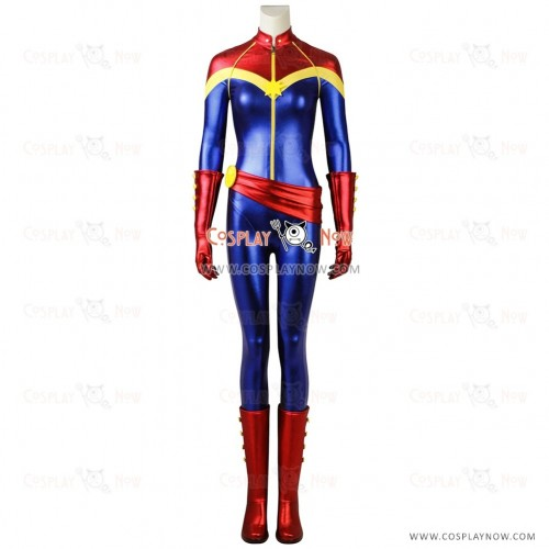 Ms. Marvel Costume Cosplay Captain Marvel Carol Danvers outfit
