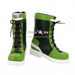 King of Fighter 96 Leona Heidern Cosplay Boots