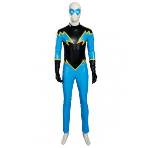 Young Justice Black Lightning Cosplay Costume