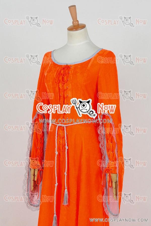 & Doctor Who Season 8 Robot Of Sherwood Clara Oswald Cosplay Costume