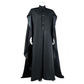 Harry Potter and the Deathly Hallows Severus Snape Cosplay Costume