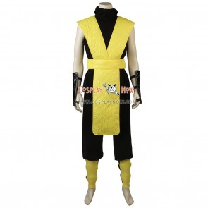 Mortal Kombat Cosplay Scorpion Costume