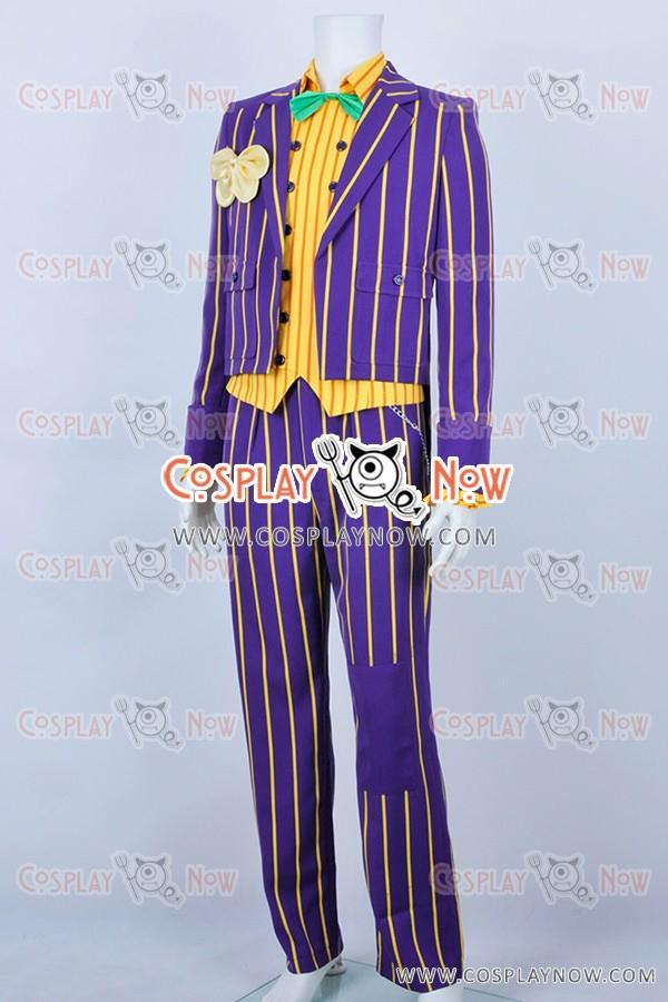 & Batman Cosplay Arkham Asylum Joker Costume New Ver
