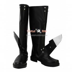 Kantai Collection Cosplay Shoes Fleet Girls Tenryuu Black Boots