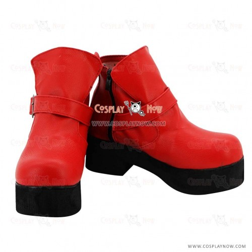 Cardcaptor Sakura Red School Uniform Shoes