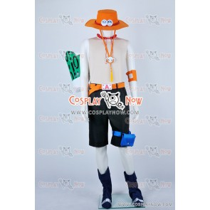 One Piece Cosplay Fire Fist Ace Portgas D Ace Costume