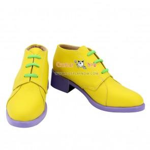 JoJo's Bizarre Adventure Rohan Kishibe Yellow Cosplay Shoes