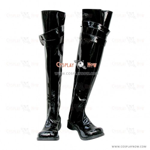 Hitman Reborn Cosplay Shoes Chrome Dokuro Shiny Boots