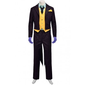 The Joker Costume For Batman Arkham City Cosplay