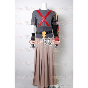 Kingdom Hearts Birth by Sleep Terra Cosplay Costume