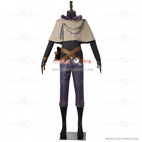 Black Clover Cosplay Yuno Costume Full Set