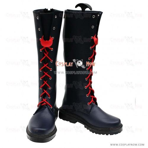 Zaregoto Cosplay Shoes Zerozaki Hitoshiki Boots
