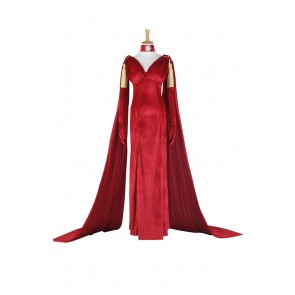 Once Upon A Time In Wonderland Red Queen Cosplay Costume