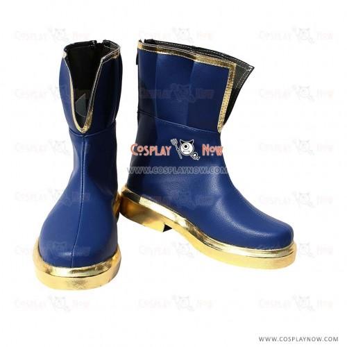 Puella Magi Madoka Magica Cosplay Shoes Miki Sayaka Short Boots