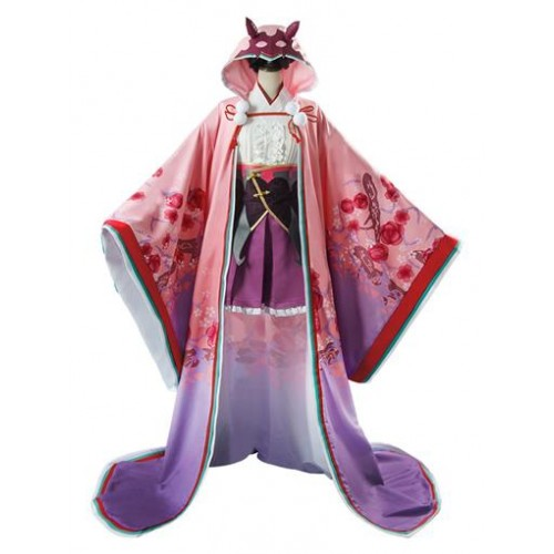 Fate Grand Order Osakabehime Cosplay costume