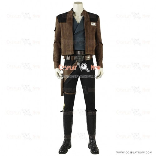 Star Wars Han Solo Cosplay costumes Full Set For Adults