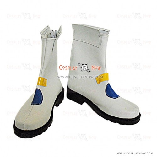 Magical Girl Lyrical Nanoha Cosplay Shoes Nanoha Takamachi Boots