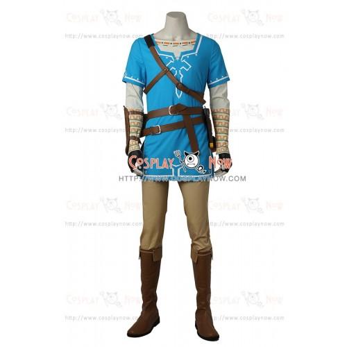 The Legend of Zelda Breath of the Wild  Cosplay Link Costume