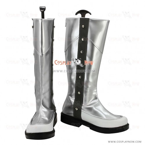 Yu-Gi-Oh! 5D's Cosplay Shoes Jack Atlas Silver Boots