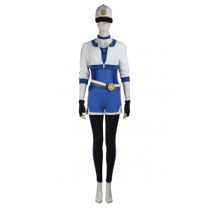 Pokemon GO Cosplay Female Blue Costume