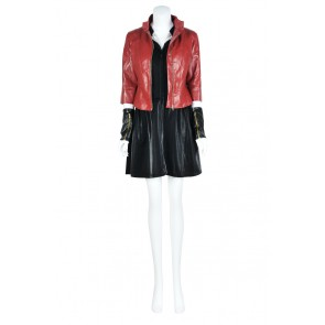 Wanda Maximoff Scarlet Witch From Avengers: Age Of Ultron Cosplay Costume