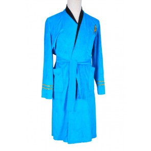 Star Trek Costume TOS Blue Bath Robe