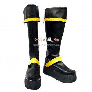 D Gray Man Cosplay Shoes Yu Kanda Boots