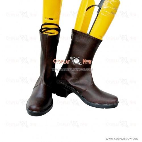 Vampire Knight Cosplay Shoes Kuran Yuuki Leather Boots