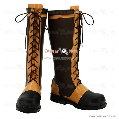 Black Butler Cosplay Shoes Ciel Phantomhive Boots