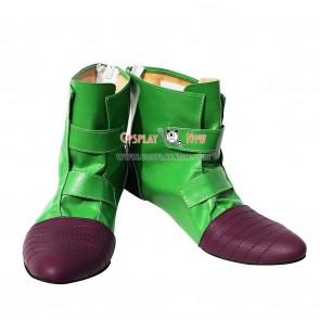 Dragon Ball Cosplay Videl Green Cosplay Shoes