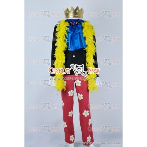 One Piece Cosplay Soul King Brook Costume