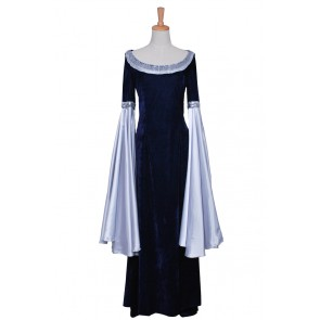 The Lord of the Rings Cosplay Arwen Blue Costume