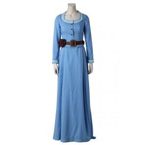 Dolores Abernathy Costume For Westworld Cosplay Uniform