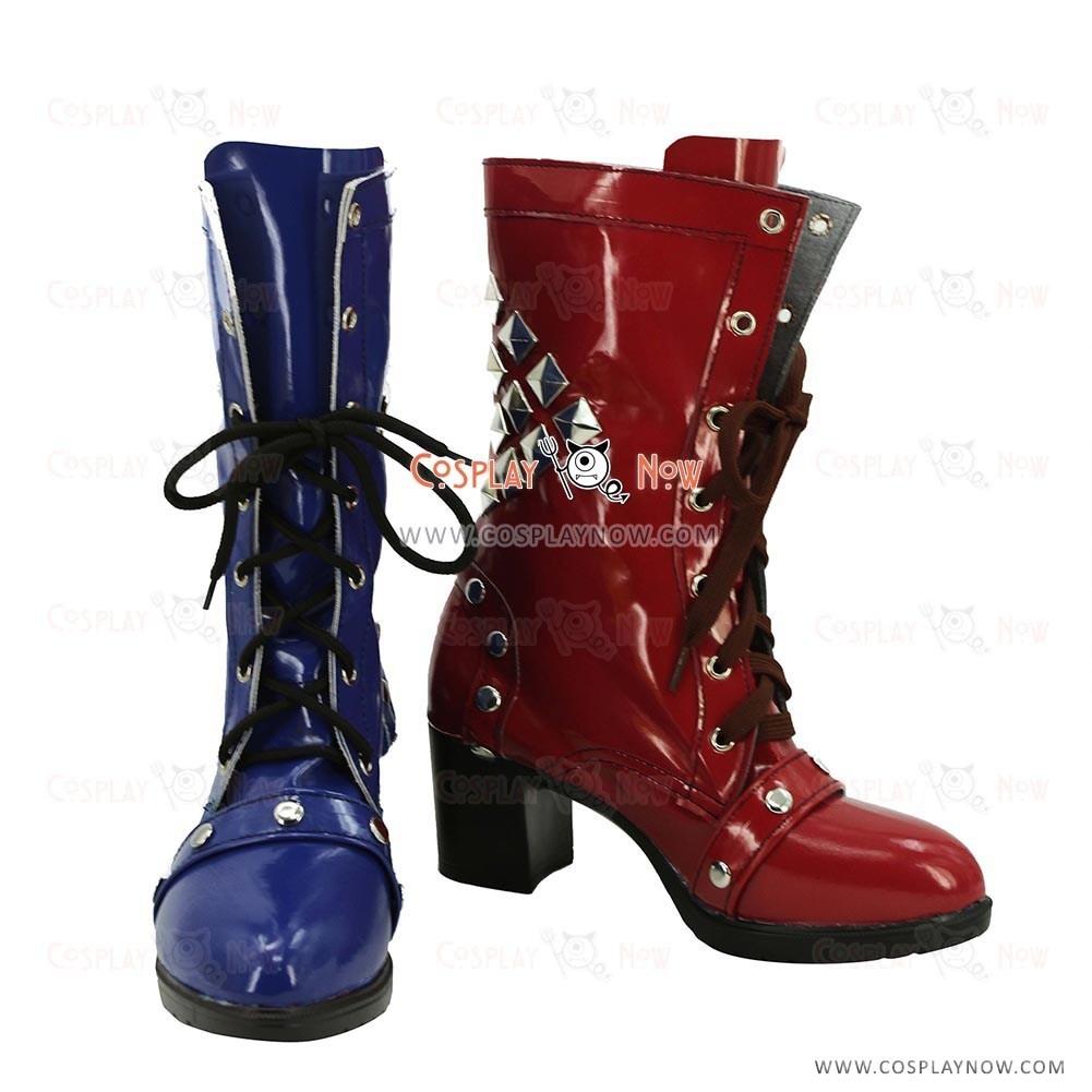 b042dac6355c Batman Cosplay Shoes Harley Quinn Boots