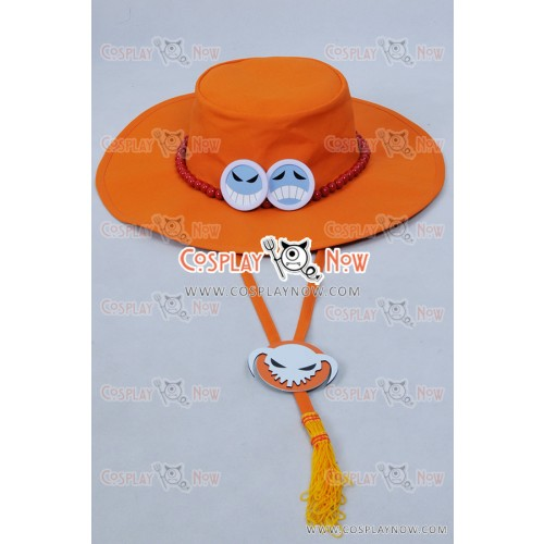 One Piece Cosplay Portgas D Ace Hat