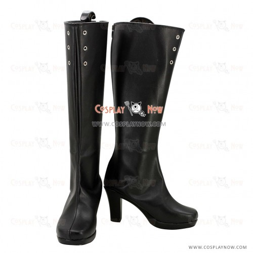 Unlight Cosplay Shoes Doppelsoldner Rudia Black Boots