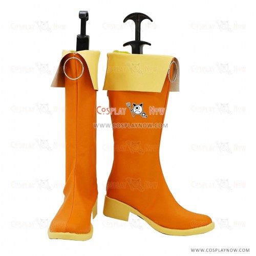 Vocaloid Cosplay Shoes Gumi Boots