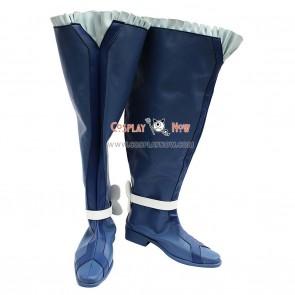 Pretty Cure 5 Cosplay Shoes Kurokawa Ellen Blue Boots
