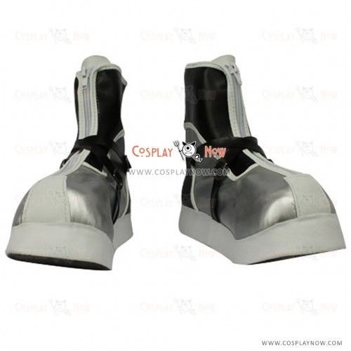 Kingdom Hearts II Sora Final Form Silvery Version Cosplay Boots