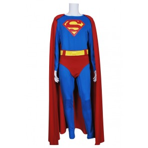 Superman Clark Kent Cosplay Costume