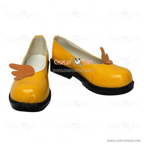 Cardcaptor Sakura Sakura Yellow Cosplay Shoes