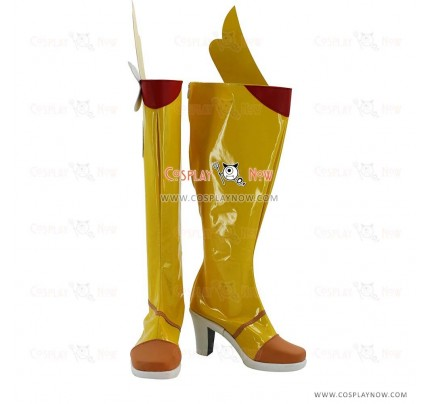 VOCALOID Snow Miku Cosplay Shoes Mo qingxian Boots