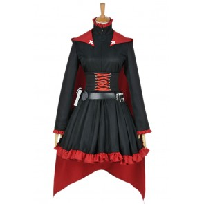 RWBY Cosplay Red Trailer Ruby Rose Costume