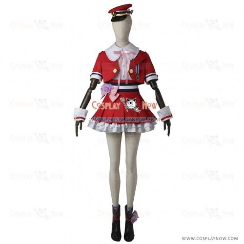 Uzuki Shimamura Cosplay Costume from The Idolmaster