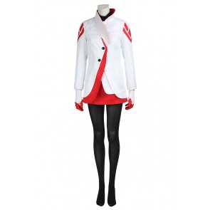 Female Red Costume For Pokemon GO Cosplay Uniform